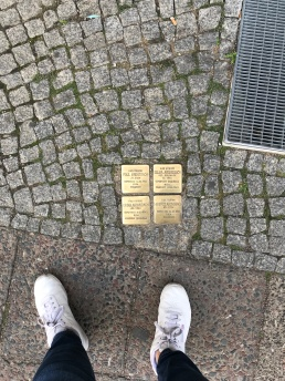 Stolperstein - Stumbling Stone Memorial